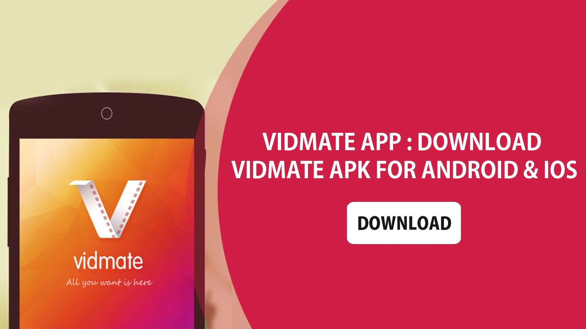 Download Unlimited Films Or Songs From Vidmate