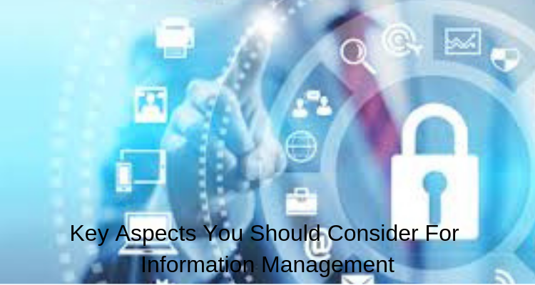 Key Aspects You Should Consider For Information Management