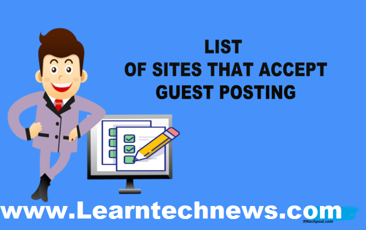 Free guest post site list 2019