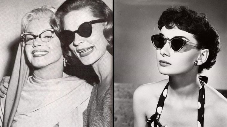 How Did The Cat Eyes Sunglasses Of The 50's Seem To Be?