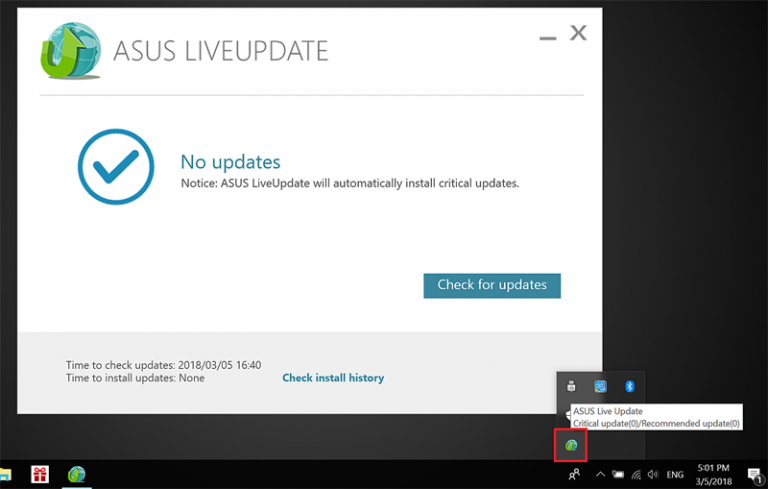 Download Asus Live Update Utility
