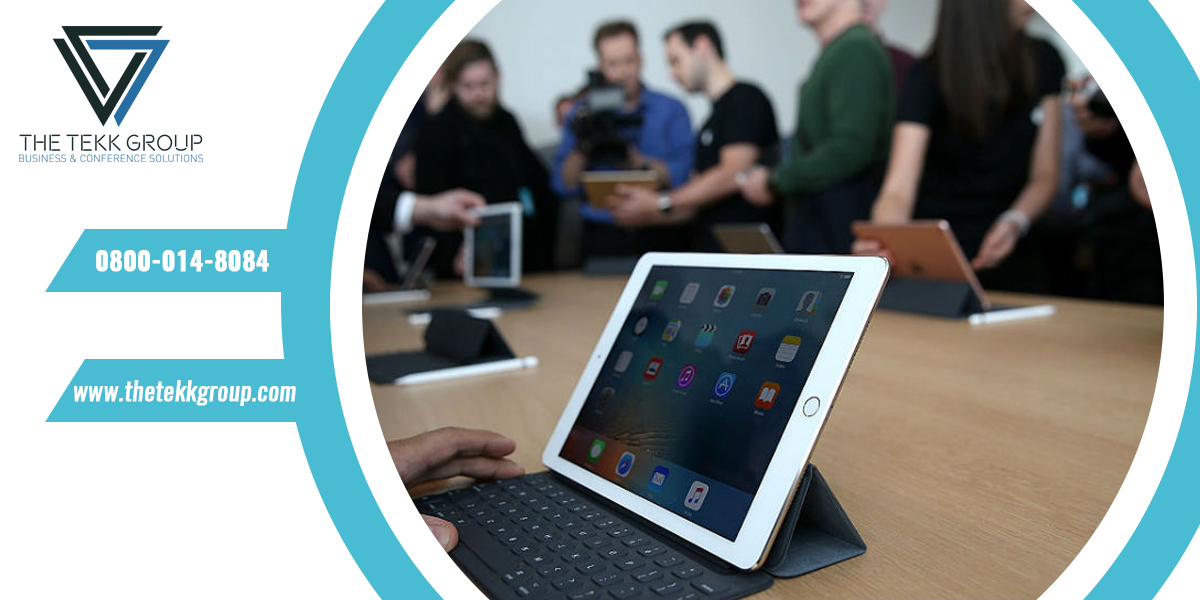 Role and Benefits of iPad Hire for Events in UK