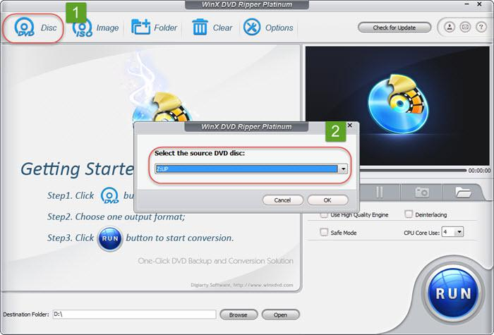 How to Decode & Convert DVD on Windows 10 with WinX DVD Ripper