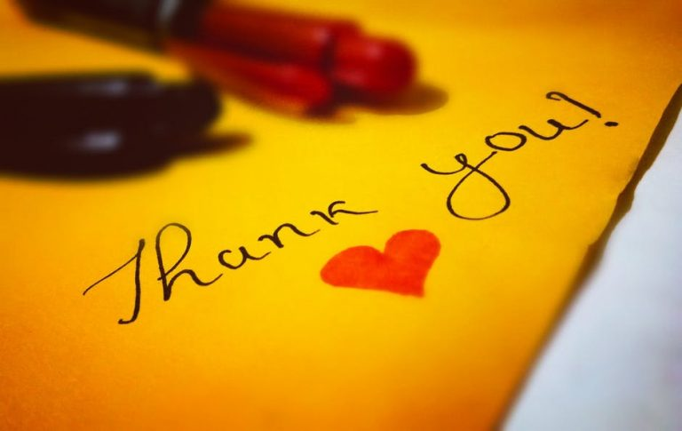 4 Creative Ways to Say Thank You Without Going Broke