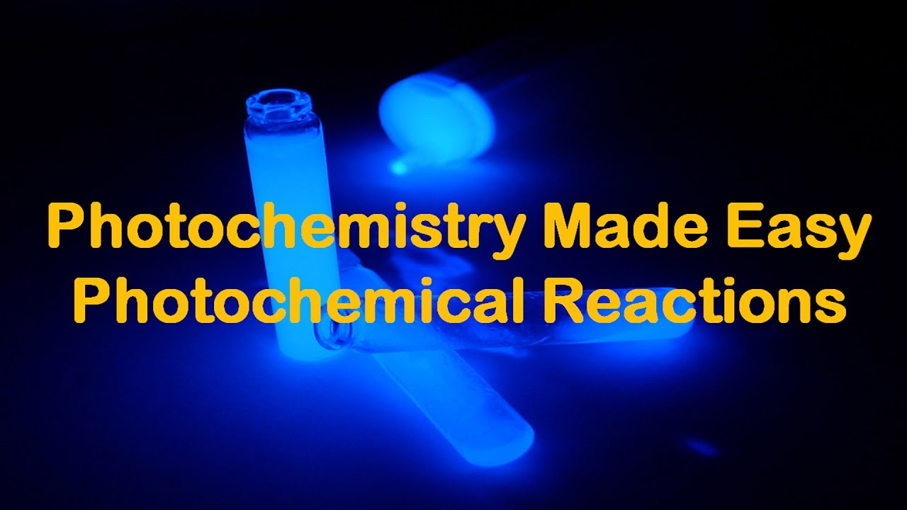 Photochemistry and Photochemical Reactions